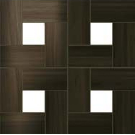 Atlas Concorde Aston Wood Dark Oak Mosaic Lap / Астон Вуд Дарк Оак Мозаика Лаппато 45х45