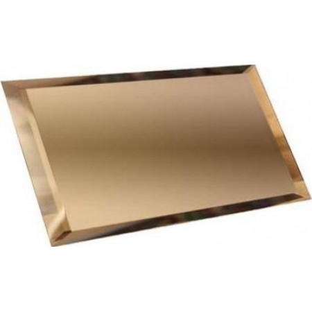 Квадратная зеркальная графитовая плитка с фацетом 10мм КЗГ1-01
