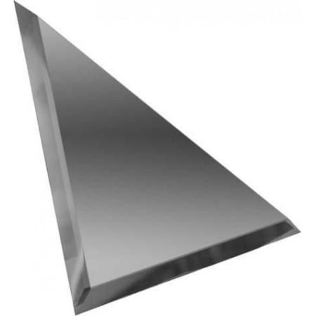 Квадратная зеркальная бронзовая плитка с фацетом 10мм КЗБ1-04