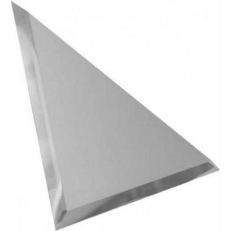 Квадратная зеркальная графитовая плитка с фацетом 10мм КЗГ1-03