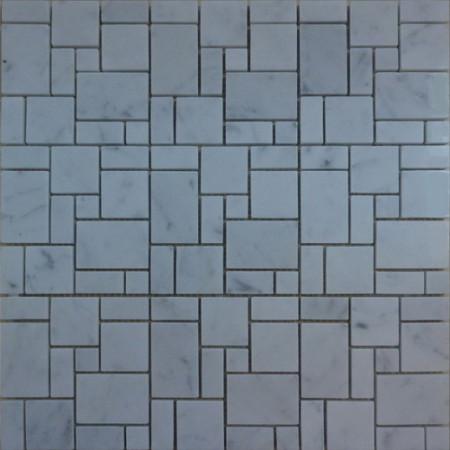 Bianco Carrara Random Square под заказ