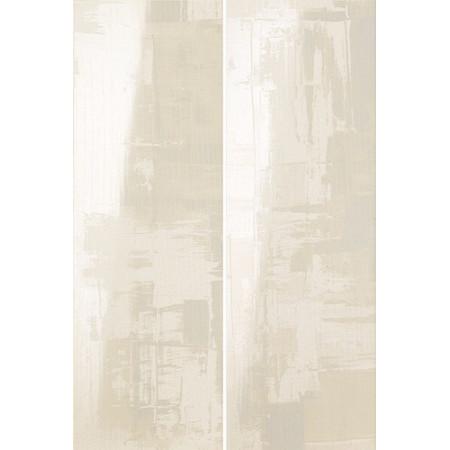 Ava Eden Abstraact Bianco Lucido Set2 64.2x96.3