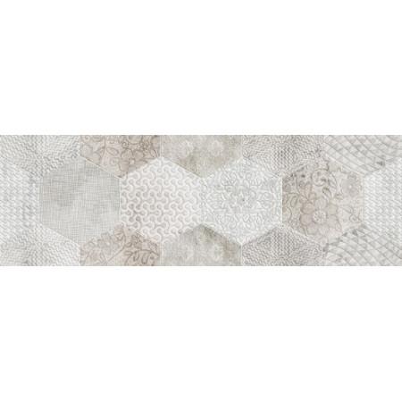 Aurelia Ceramiche Flou Dec. Flou White Decoro Trama 20x60