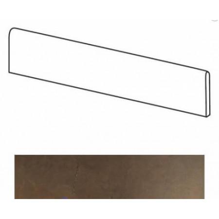 Atlas Concorde Marvel Floor Bronze Battiscopa Lappato 7.2x60