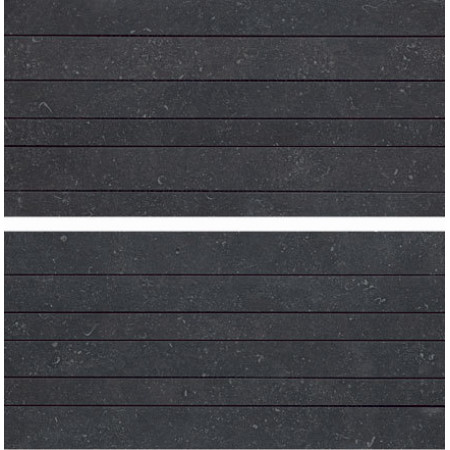 Atlas Concorde Seastone Black Mosaico Linea Mix2 30x60