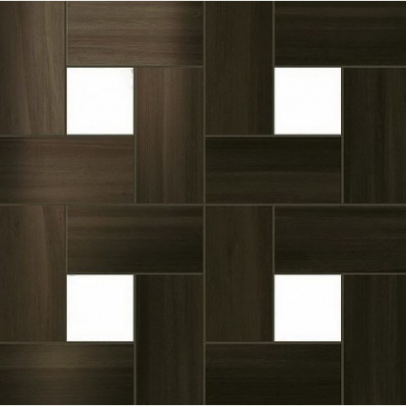 Керамогранит Atlas Concorde Russia Aston Wood Dark Oak Mosaic Lap 45x45
