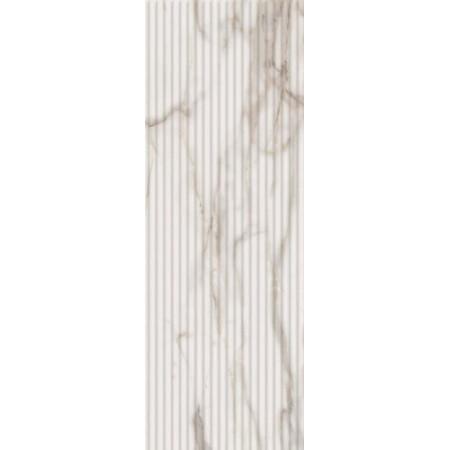 Настенная плитка Italon Charme Evo Wall Project Calacatta Inserto Wave 75x25