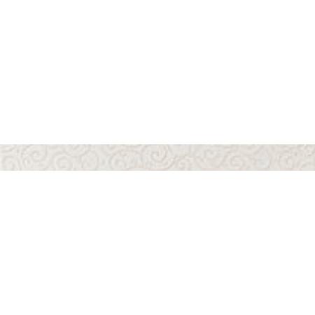 Настенная плитка Atlas Concorde Russia Desire White Listello Charme 4.6x50