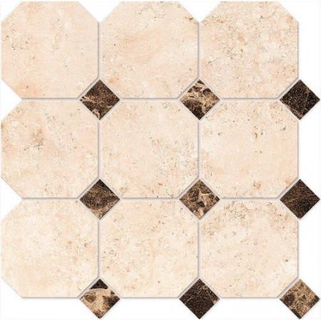 Мозаика Estima Elegant Octagon Big EL03/LM01 30x30