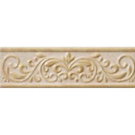 Плитка для ванной Italon Elite Cream Listello Natura 7.5x25