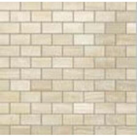 Настенная плитка Atlas Concorde Russia Supernova Onyx Wall Ivory Chiffon Brick Mosaic 30.5x30.5
